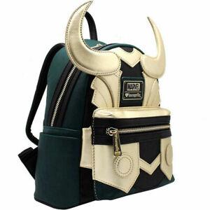 Backpack Loki Mini Shoulder Bags Travel Rucksack Avengers Marvel Loki Loungefly
