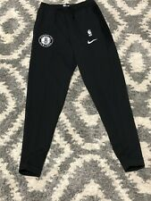 Brooklyn Nets Pre Game Warm Up Nike Dri Fit Swearpants Size XL