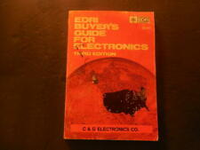 EDRI Buyer's Guide For Electronics 3rd Ed 1977 C And G Electronics Co   ID:42976