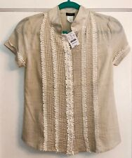 fd8dcb9e69c476 New J Crew Women's Short Sleeve Blouse Size 0