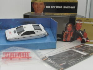 CORGI JAMES BOND 007 LOTUS UNDERWATER 'THE SPY WHO LOVED ME'  w Working features