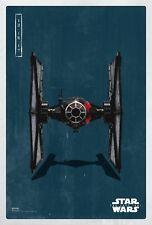 Star Wars The Last Jedi Episode VIII Movie Poster (24x36) - TIE Fighter v19