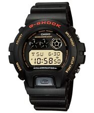CASIO DW-6900G-1V G-SHOCK Standard Digital Watch 200M WR Resin Strap Black Gold