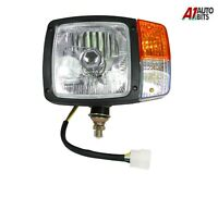 Universal Front Left Side Wired Head Light Lamp Indicator For Tractor Excavator