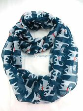 US SELLER , cats pets animals lover circle loop infinity scarf cowl wrap