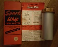 Retro Spark Whip Cream Whipper With Original Box and Instructions