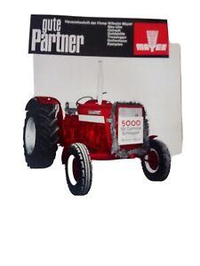 McCormick IHC Case Traktor Prospekt