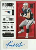 2017 Contenders #239 Jacob Hollister Auto RC ONLY RC