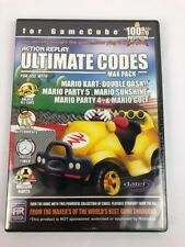 ACTION REPLAY Ultimate Codes: MARIO KART Double Dash (Nintendo GameCube) RARE