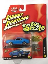 Johnny Lightning 60s Sizzle 69 1969 AMC AMX Blue Die cast 1/64 Scale Ltd Edition
