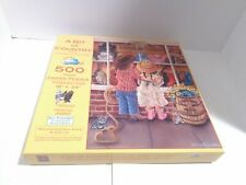 A Bit of Country 500 piece puzzle - Art by Tricia Reilly-Mattews  COMPLETE