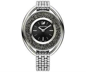 Swarovski Crystalline Oval 5181664 Damen Armbanduhr Edelstahl Neu und Ovp