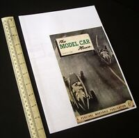 "1948 March/1980s ""The Model Car News"" RTP Rail & Track. Ivan Prior Desktop Copy."