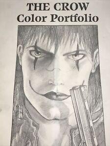 "The CROW Color Portfolio 14""X11"" SIGNED & Numbered Ltd J. O'Barr 1990 #1511/2000"
