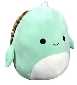 "NEW 8"" ""Antoni the Sea Turtle"" Kellytoy Squishmallow Plush! Sea Life Squad! 💕💕"