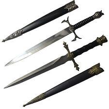 2X Sharp Stainless Steel Short Elegant Beautiful Sword Knife Dagger Cheap Price