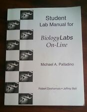 Student Lab Manual for Biology Labs On-Line