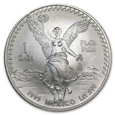 1 OZ ONZA PLATA PURA LIBERTAD 1995 ARGENTO SILVER ONCIA MEXICO MESSICO