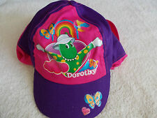 WIGGLES DOROTHY THE DINOSAUR PINK HAT, 1-3yr LEGIONAIRE STYLE CAP