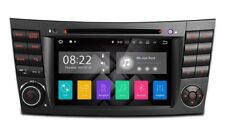"RADIO DVD GPS MERCEDES BENZ CLASE E W211 CLS W219 ANDROID 7.1 HDMI LCD 7"" CANBUS"