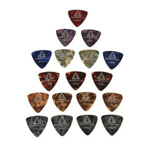 18 x LARGE GUITAR PICKS / PLECTRUMS acoustic bass electric plectrum pick gauges