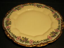 "Stunning Antique 1913 Dated & Artist Signed P&P Limoges Porcelain 9.5"" Plate"