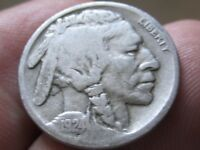 1924-S BUFFALO NICKEL - Fine cond SCR - Full Date - Collectible - Lot# 67-33