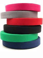 1 m Gurtband 30mm Baumwolle Taschengurt  8 Farben