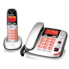 DCT5872 Festnetz-Kombiset aus schnurgebundenem Telefon und Schnurlostelefon mit