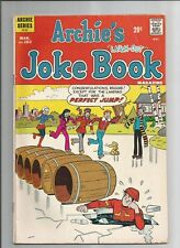 ARCHIES JOKE BOOK #182 FN WHITE PAGES BRONZE AGE ARCHIE SERIES COMICS 1973