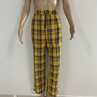 NWT Princess Polly Check Pants With Zip Front SIZE 10