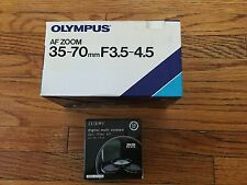 "Olympus Auto Zoom 35-70 mm F3.5""-4.5"" Manual Focus Black Lense"