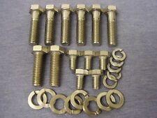 Ford Essex V6 Stainless Steel Belhousing/Starter Motor Bolts/Washers (Set of 13)