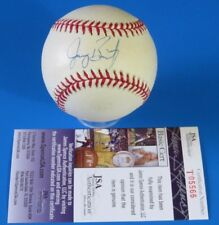 JEROMY BURNITZ SIGNED ROM BASEBALL ~ AUTOGRAPH BALL ~ JSA T05666