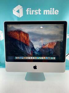 """Apple iMac 9,1 A1224 20"""" Core 2 Duo 2.66GHz 4GB RAM 500GB HDD El Capitan"""