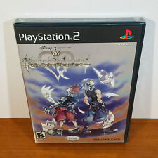 Kingdom Hearts Re: Chain of Memories (PS2) Rare 1st Print! Sealed New!
