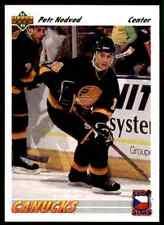1991-92 Upper Deck Euro-Stars  Petr Nedved #E5