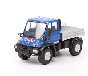 1:43 Junji Benz Unimog U400 Truck Unimog Dump Truck Simulation Car Model