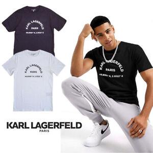 NWT Karl Lagerfeld Men's Logo Tee
