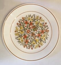 Corelle Indian Summer Autumn Orange Floral Dinner Plate Dish Used