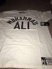 ROOTS OF FIGHT BOXING MUHAMMAD ALI WHITE T-SHIRT XXL 2XL