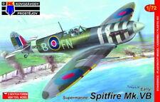"""Kovozavody Prostejov 1/72 Supermarine Spitfire Mk. vb """"temprano"""" RAF # 7257"""
