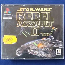 Ps1-PLAYSTATION ► STAR WARS: Rebel ASSAULT 2-the HIDDEN EMPIRE ◄ prima edizione