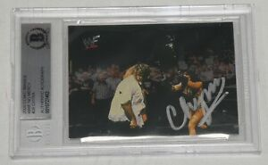 Chyna Signed 2000 WWF Comic Images No Mercy Card #26 BAS Beckett COA WWE Auto'd