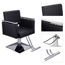 Square Hydraulic Barber Chair Salon Hair Styling Beauty Spa Shampoo Equipment