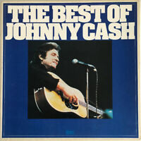 JOHNNY CASH THE BEST OF JOHNNY CASH 6-LP BOX SET UK 1973 NR MINT CLEANED