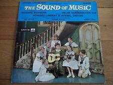 "ORIGINAL LONDON CAST - THE SOUND OF MUSIC 12"" LP - HIS MASTER'S VOICE - CLP 1453"