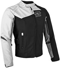 NOS SPEED AND STRENGTH 870682 BACKLASH TEXT JACKET WHT BLK SIZE WOMENS SM