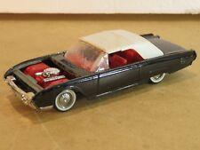 vecchia automobile giocattolo FORD THUNDERBIRD 1961 SOLIDO N 4504 Scala 1/43 di