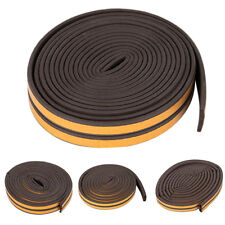 5M D/E/P/I Type Foam Weather Draught Excluder Self Adhesive Window Seal Strip AU
